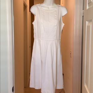 The Limited white cotton summer dress.